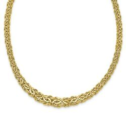 925 Sterling Silver 14k Yellow Gold Cuban Link Chain Necklace Pendant Charm