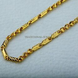 Hallmarked 22kt 20kt Gold Nawabi Chain Necklace Gifting Jewelry Best Gifting 17