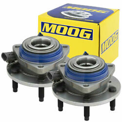 Moog Front Wheel Bearings Pair For Pontiac Grand Prix Buick Cadillac Deville Dts
