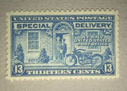 Scott E17 Us 1944 13 Cent Special Delivery Postage Stamp W/ Gum Unused