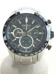 Seiko Stainless Steel Date Box Automatic Mens Watch Authentic Working