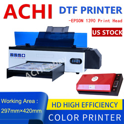 A3 Dtf Printer Direct To Film T-shirt Diy Printer For Home Business Oven New Us