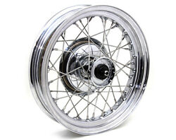 Chrome Replica 16 45 Solo Front Wheel And Drum For Harley 1930 - 1952 And Servi-car