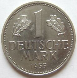 1 Dm 1955 G In Uncirculated Rare