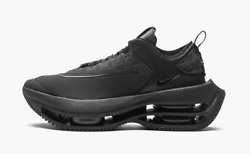 Nike Zoom Double Stacked Triple Black Womenand039s Sneakers