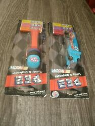 Stp 43 Helmet And Tractor Trailer Pez Dispensers2 New On Original Cards