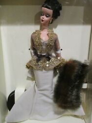2003 Rare And Hard To Find Chataine Barbie Doll. Mint Fao Schwarz Le. Edition.