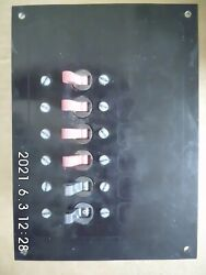 Ancor Marine Electrical Control Panel 6 10a Circuit Breakers