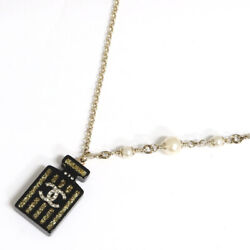 Necklace Gold Black 17a 2017 Model Year Ladies Women Perfume No5 5