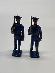 Antique Britains Toy Soldier - Not Sure Brand Or Exact Year - See Pictures