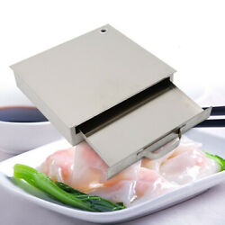 Stainless Steel Rice Noodle Roll Steamer Single Tray Food Rice Roll Maker 1layer