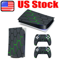 PVC Decal Stickers Skin for Sony PlayStation 5 PS5 Console Gamepad Controller US