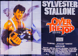 Over The Top Stallone 10x13 Ft Giant Original Vintage Movie Poster 1987