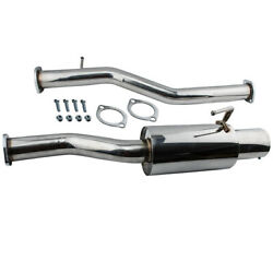 3and039and039 Catback Exhaust W/ Bolts And Gaskets For Nissan 350z Infiniti G35 V6 2003-2008