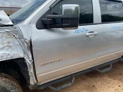 Driver Front Door Classic Style Fits 14-19 Silverado 1500 Pickup 554422