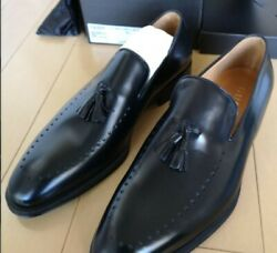 Leather Shoes Men's Shoes Black Size 8.5 With Box Formal Dress Unused