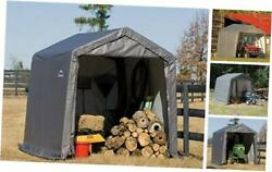 10and039 X 10and039 Shed-in-a-box All Season Steel Metal Roof 10and039 X 10and039 X 8and039 Grey Peak