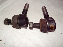 1940-1954 Dodge Plymouth 1940-48 Chrysler Desoto Nors Tie Rod Ends Pair 131 Randl