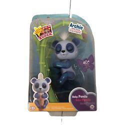 Fingerlings Baby Panda Archie The Glitter Panda 40+ Sounds Batteries Included