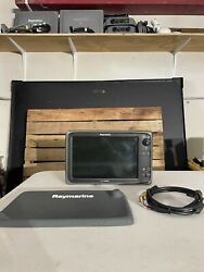 Raymarine E127 Multifunction 12andrdquo Hybrid Gps Display E70024 With Power Cable
