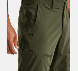 Under Armour Menandrsquos Canyon Storm Cargo Loose 30upf Water-resistance Pants Green