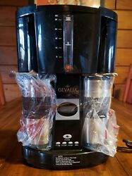 New Gevalia Black Model Ws-02a Coffee Maker Includes 2 Stainless Travel Mugs