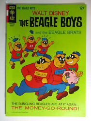 Walt Disney The Beagle Boys #3 Uncle Scrooge VF 8.5 White Pages 1966