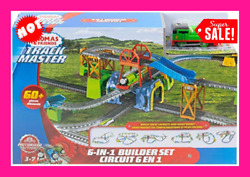 Toys Train Track Set Kids Thomas And Friends Play Children Motorized Trackmaster