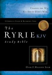 The Ryrie Kjv Study Bible Bonded Leather Burgundy Red Letter [ryrie Study Bibles