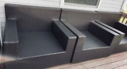 3 Frontgate Brand Palermo Line Large Patio Lounge Chairs