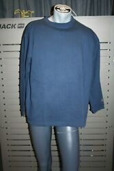 Plus Minus Created By Chiemsee Sweatshirt Chips Navy Blue Vintage New Size S