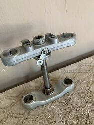 2005 Ktm 50 Sx Triple Tree Clamps And Stem. Complete With Bearings