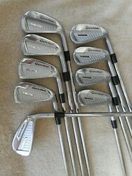 New Taylormade P760 Irons 4-pw Aw Plus Xtra 7 Iron Tt Dyn Gold 105 R300