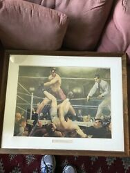 Dempsey And Firpo George Bellows Oil Painting Reproduction Famous Boxing Match