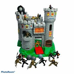 Vintage Fisher Price 1994 Great Adventures Medieval Castle Play Set Knights 7110