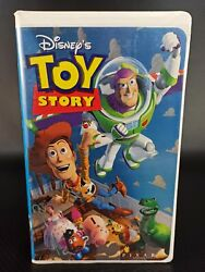 Walt Disney Home Video Toy Story Vhs 2001 Clamshell 6703 Rare Collectible