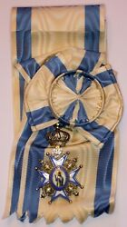 Serbia Medal The Order Of Saint Sava 1st Class With Shoulder Sash
