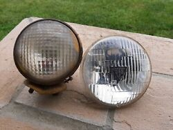 Vintage Guide Tractor Lens Light Part 5936059 Yellow Bullet Tear Dropand T-3 Lens