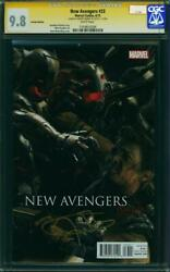 New Avengers 33 Cgc 9.8 Nm/mt Variant Edition Ss Jeremy Renner