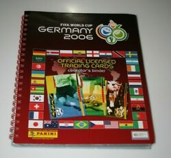 Complete Set Panini Trading Cards Fifa Wc Germany 2006 Original Binder + Messi