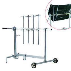 Usa Auto Body Shop Paint Booth Hood Parts Automotive Spray Painting Rack Stand