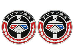 New 1968-69 Falcon Emblem Inserts Futura Sports Coupe Roof Side Lh Rh Pair Ford