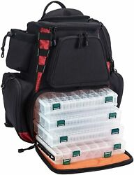Piscifun Fishing Tackle Backpack With 4 Trays Large Capacity Waterproof Fishing