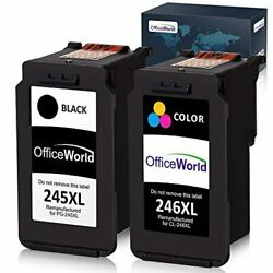 Remanufactured Ink Cartridge Replacement For Canon Pg-245xl 245 Xl C