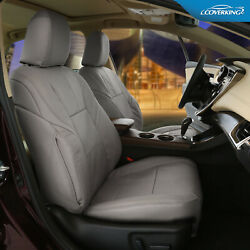 Genuine Leather Slip-on Tailored Front Seat Covers For Mercedes-benz Glk350