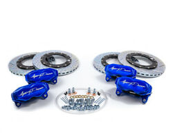 Agency Power Big Brake Kit Front-rear Blue Ice For Can-am Maverick X3 Turbo