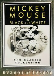 Walt Disney Treasures Mickey Mouse In Black And White The Classic Collection Dvd