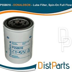 P558616 Donaldson Lube Filter Pack Of 2 Replaces Baldwin Bt247