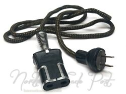 Replacement Power Cord Cloth Cable For Vintage Michelin Man Air Compressor