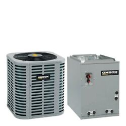 Oxbox - 4 Ton Air Conditioner + Coil Kit - 13.0 Seer - 17.5 Coil Width - Mu...